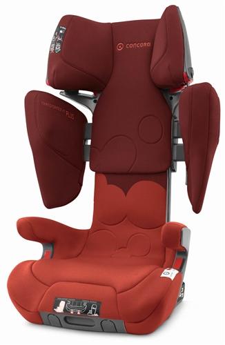 Concord Transformer XT Plus Car Seat - Autumn Red
