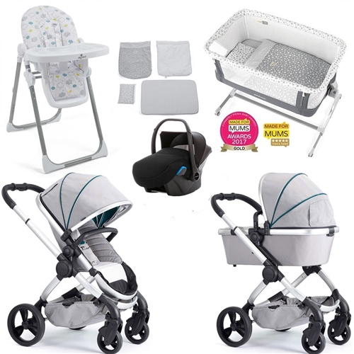 iCandy Peach Travel System & Premium Nursery Bundle 2  - Click to view larger image