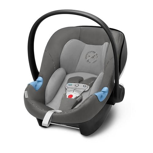 Cybex Aton M i-SIZE Car Seat including Sensorsafe - Manhattan Grey