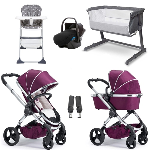 iCandy Peach Essential Travel System & Nursery Bundle  - Click to view larger image