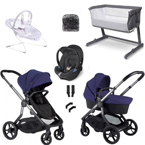 iCandy Orange Travel System & Essential Nursery Bundle  - Click to view larger image