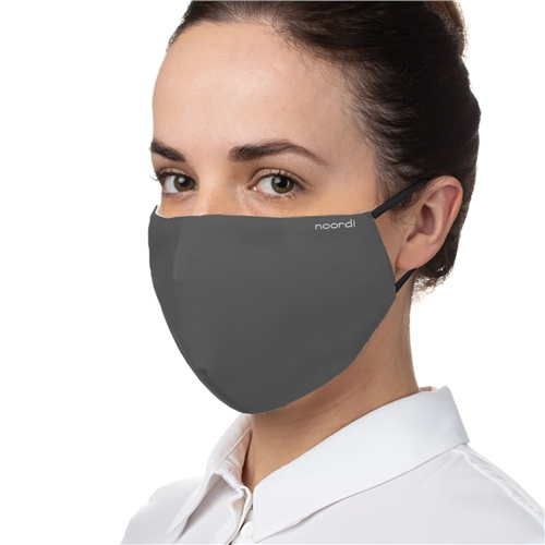 Noordi Adult Antimicrobial Face Mask - Grey 1