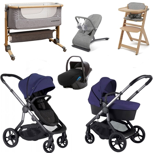 iCandy Orange Premium Travel & Nursery Bundle  - Click to view larger image