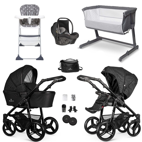 Venicci Starlight Essential Travel System & Nursery Bundle  - Click to view larger image