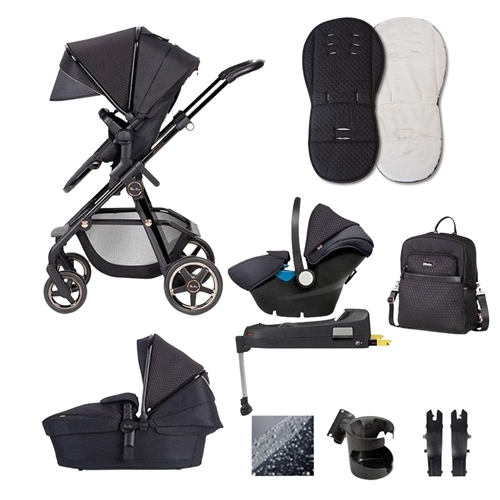 Silver Cross Pioneer Eclipse Special Edition Travel System Bundle  - Click to view larger image
