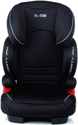 Nurse Liberty i-Fix Car Seat - Black - Grey