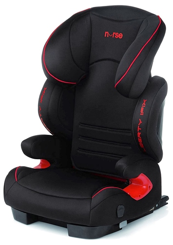 Nurse Liberty i-Fix Car Seat - Black - Red