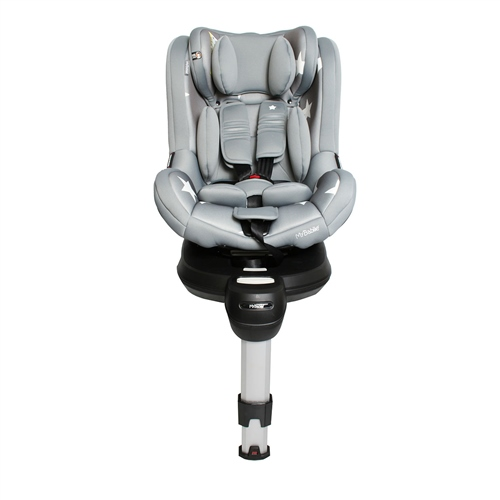 MyBabiie Orbit Group 0+/1 Spin Car Seat - Grey Stars