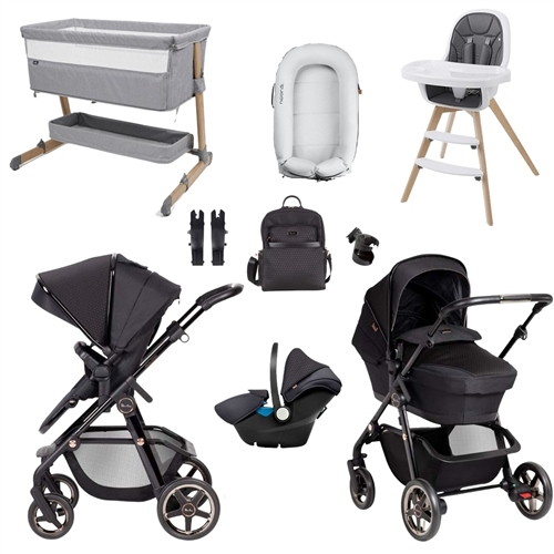 Silver Cross Pioneer Eclipse Premium Travel & Nursery Bundle 1
