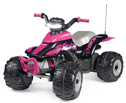Peg Perego Corral T-Rex 330W 12 Volt, Pink  - Click to view larger image