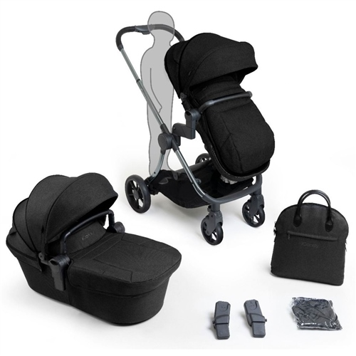 iCandy Lime Lifestyle Complete Pram Set - Black