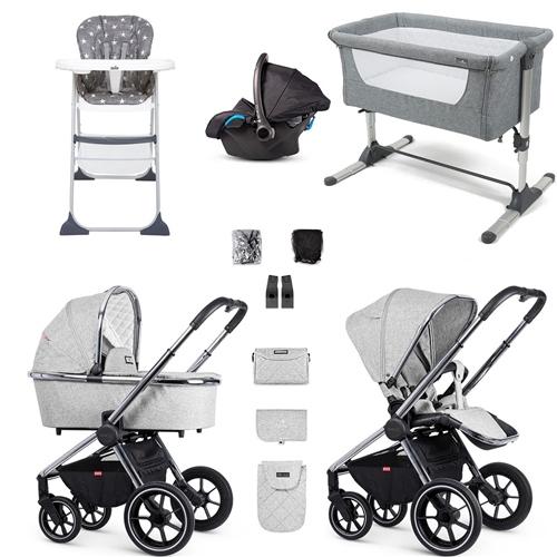 Baby Products Venicci Tinum Essential Travel System & Nursery Bundle