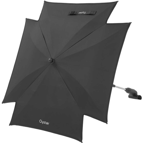 BabyStyle Oyster Parasol Black - Click to view larger image
