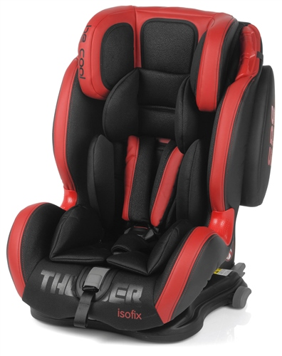 Be Cool Thunder Isofix Car Seat - Red Devil