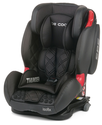 Be Cool Thunder Isofix Car Seat - Meteorite