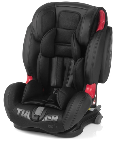 Be Cool Thunder Isofix Car Seat - Black Crown