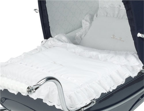 Silver Cross Dolls Pram 3 Piece Bedding set  - Click to view larger image