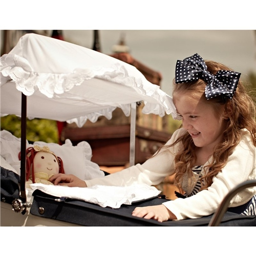 Silver Cross Dolls Pram Sun Canopy - Click to view larger image  sc 1 st  Samuel Johnston & Silver Cross Dolls Pram Sun Canopy | Samuel Johnston.com