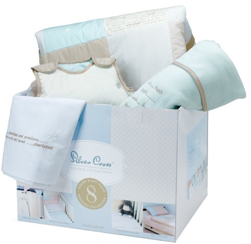 Silver Cross 8 Piece Bedding Set Cherished  - Click to view larger image