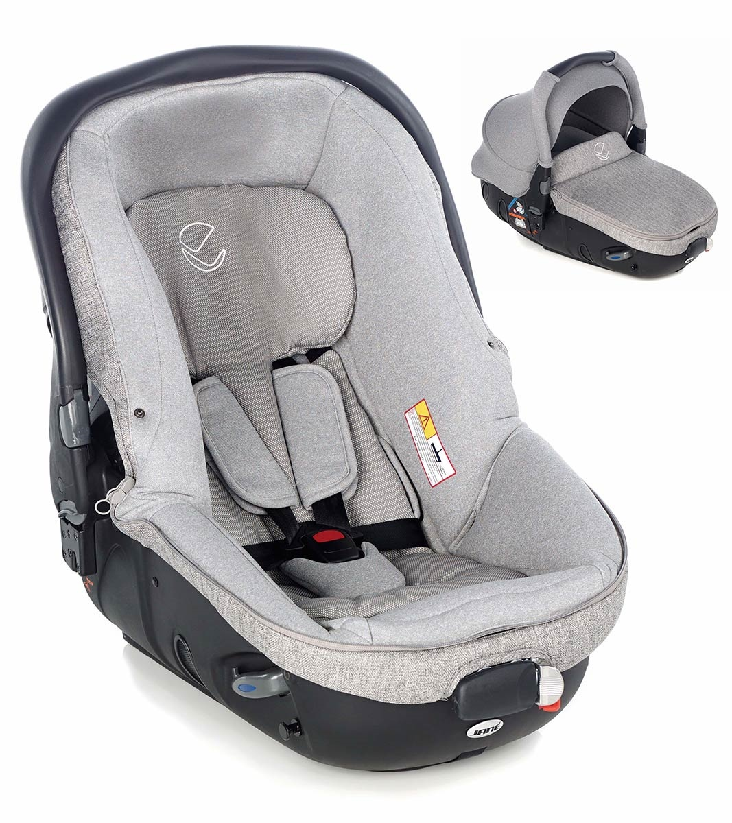Jane Matrix Light 2 Group 0/0+ Car Seat & Carrycot 1