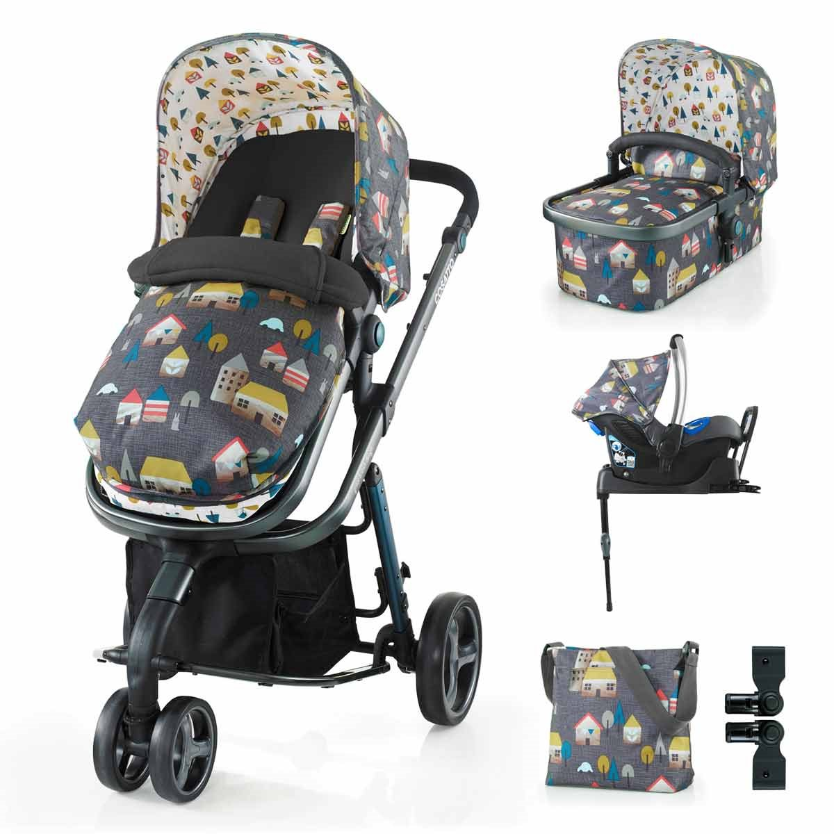 COSATTO Giggle 2 Travel System + FREE Infant Car Seat worth $299!