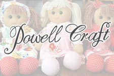 Powell Craft Rag Dolls